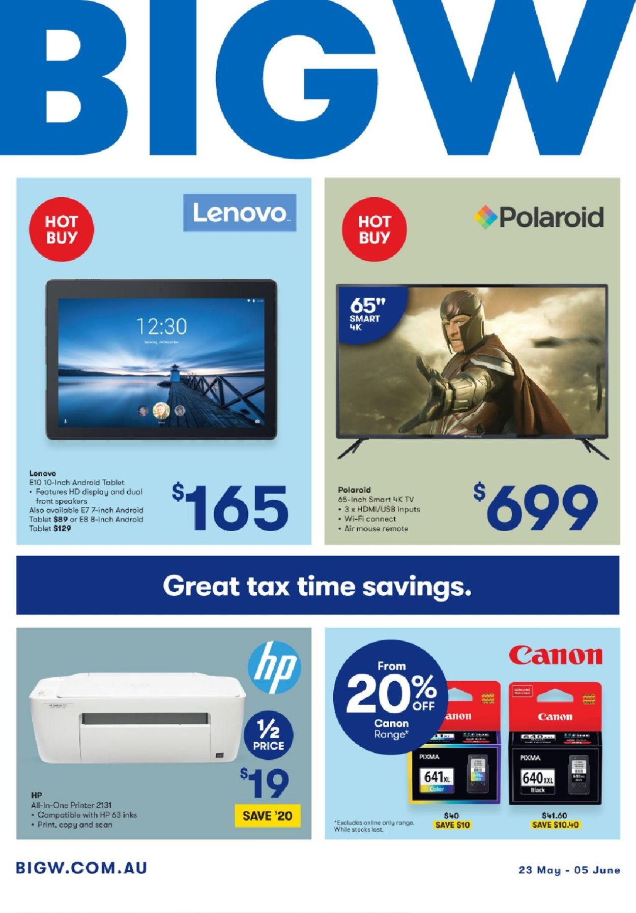BIG W Catalogue - 23/05-05/06/2019