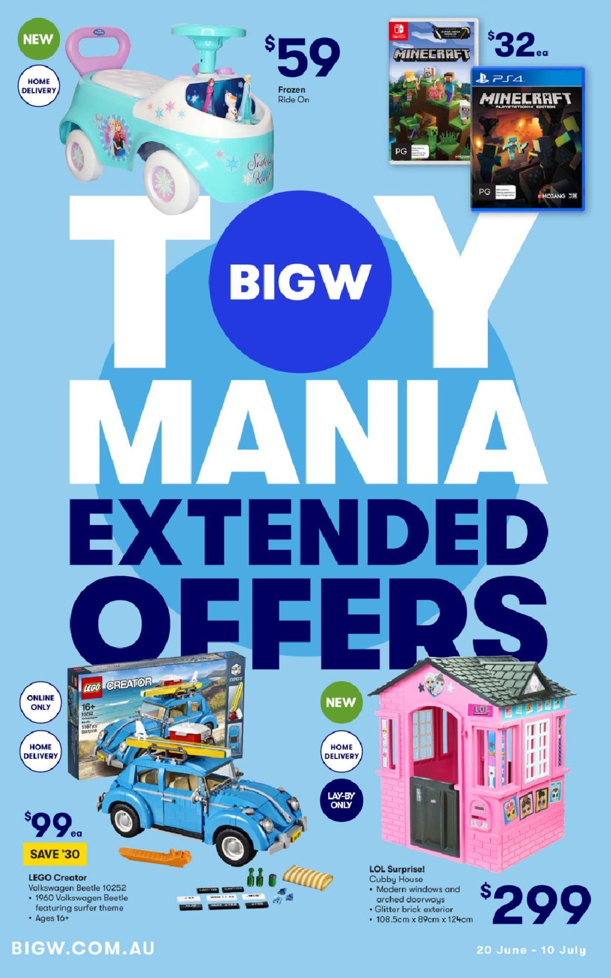 BIG W Catalogue - 20/06-10/07/2019
