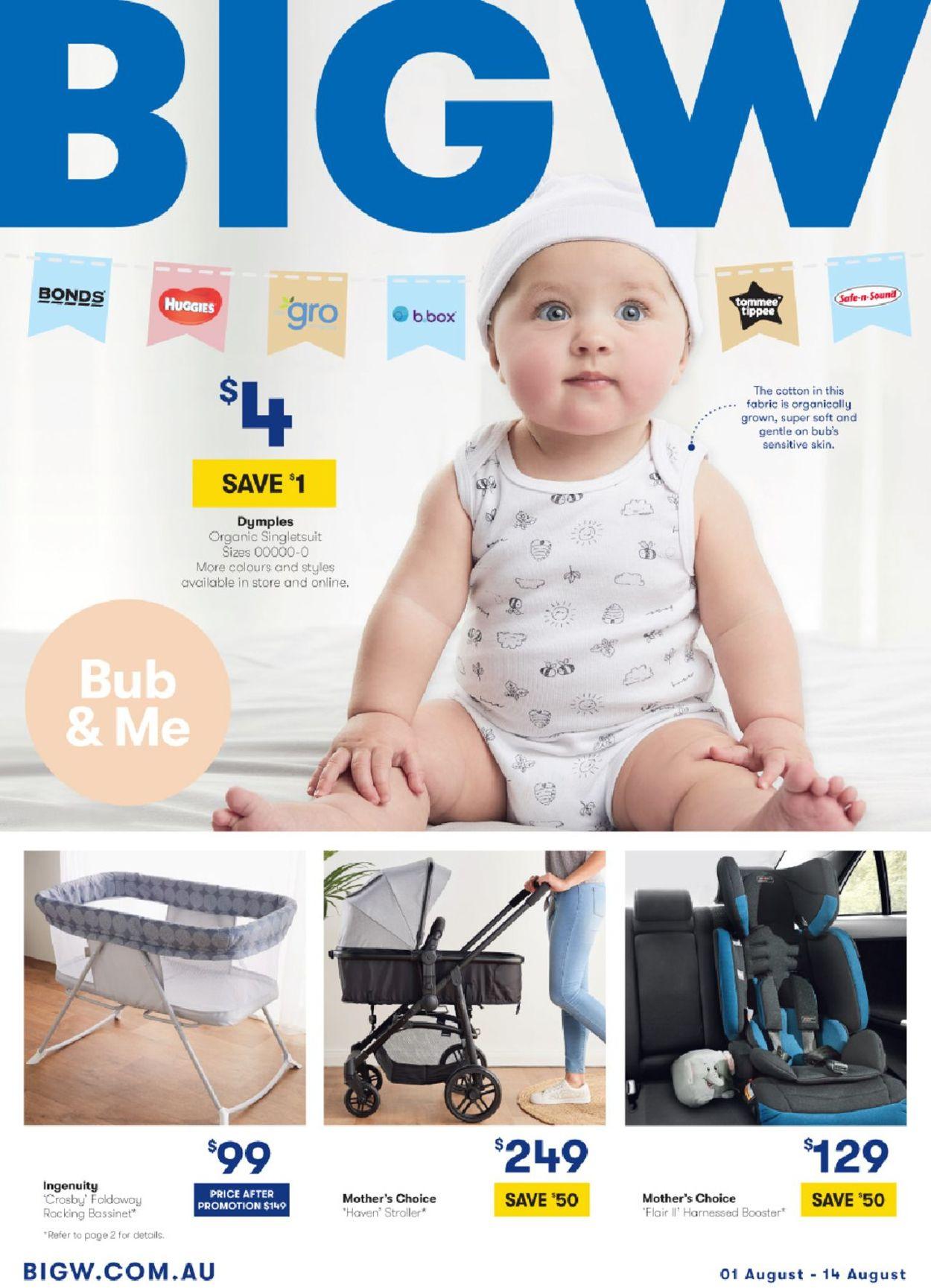 BIG W Catalogue - 01/08-14/08/2019