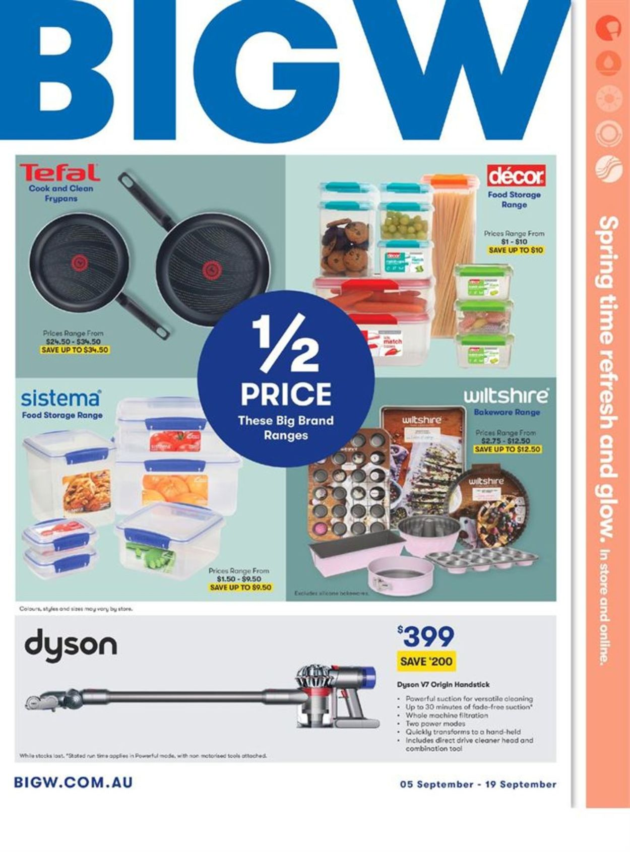BIG W Catalogue - 05/09-19/09/2019