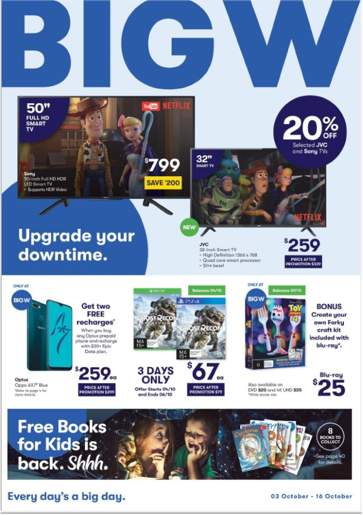 BIG W Catalogue - 03/10-16/10/2019