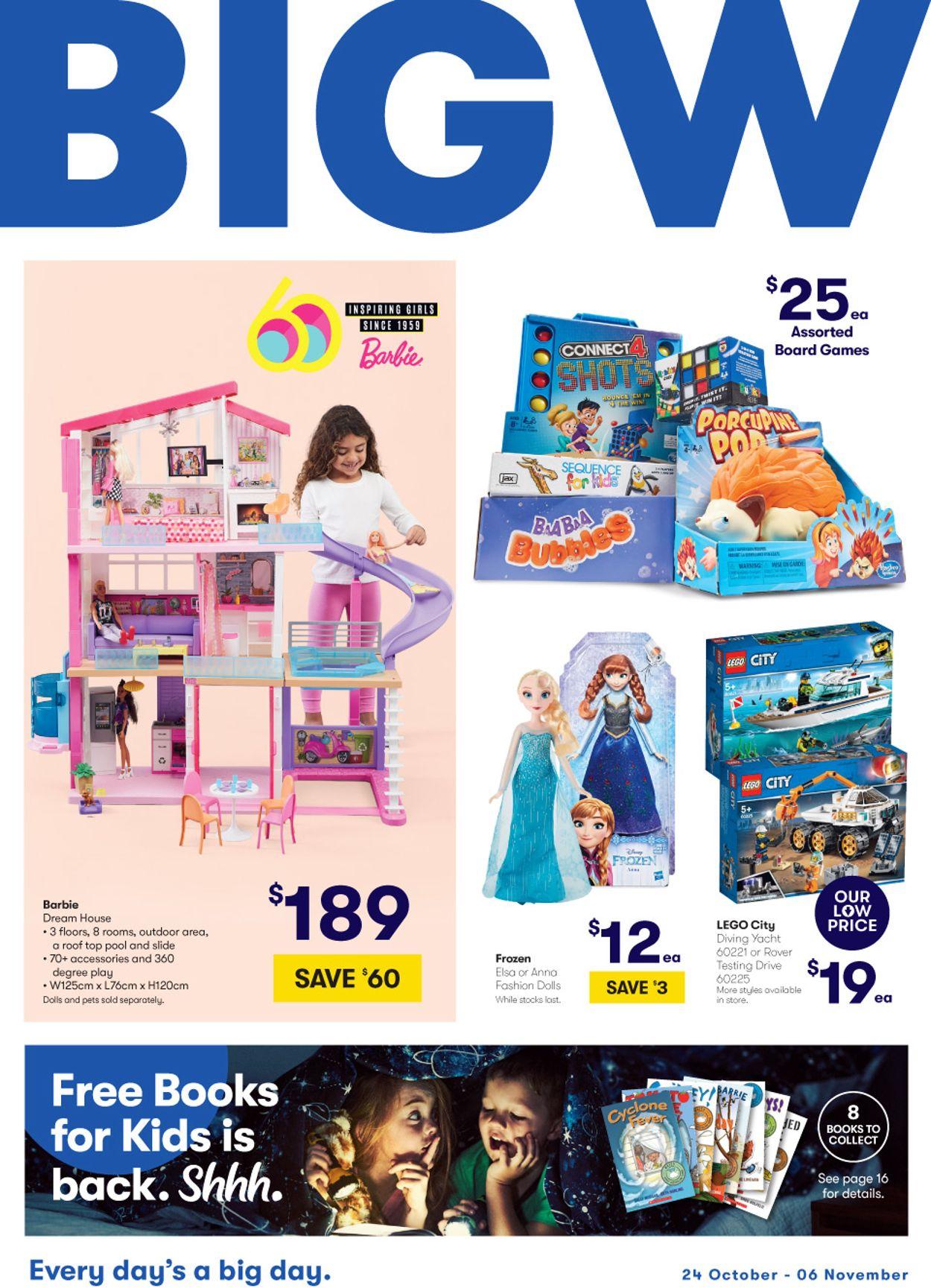 BIG W Catalogue - 24/10-06/11/2019