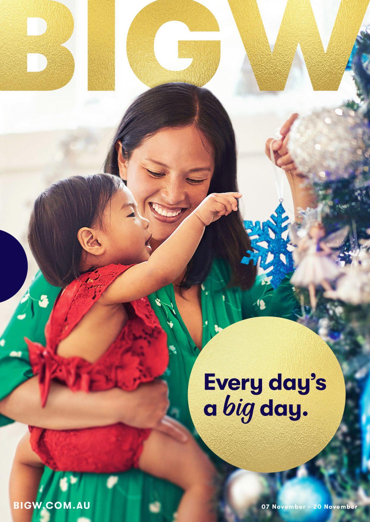 BIG W Catalogue - 07/11-20/11/2019