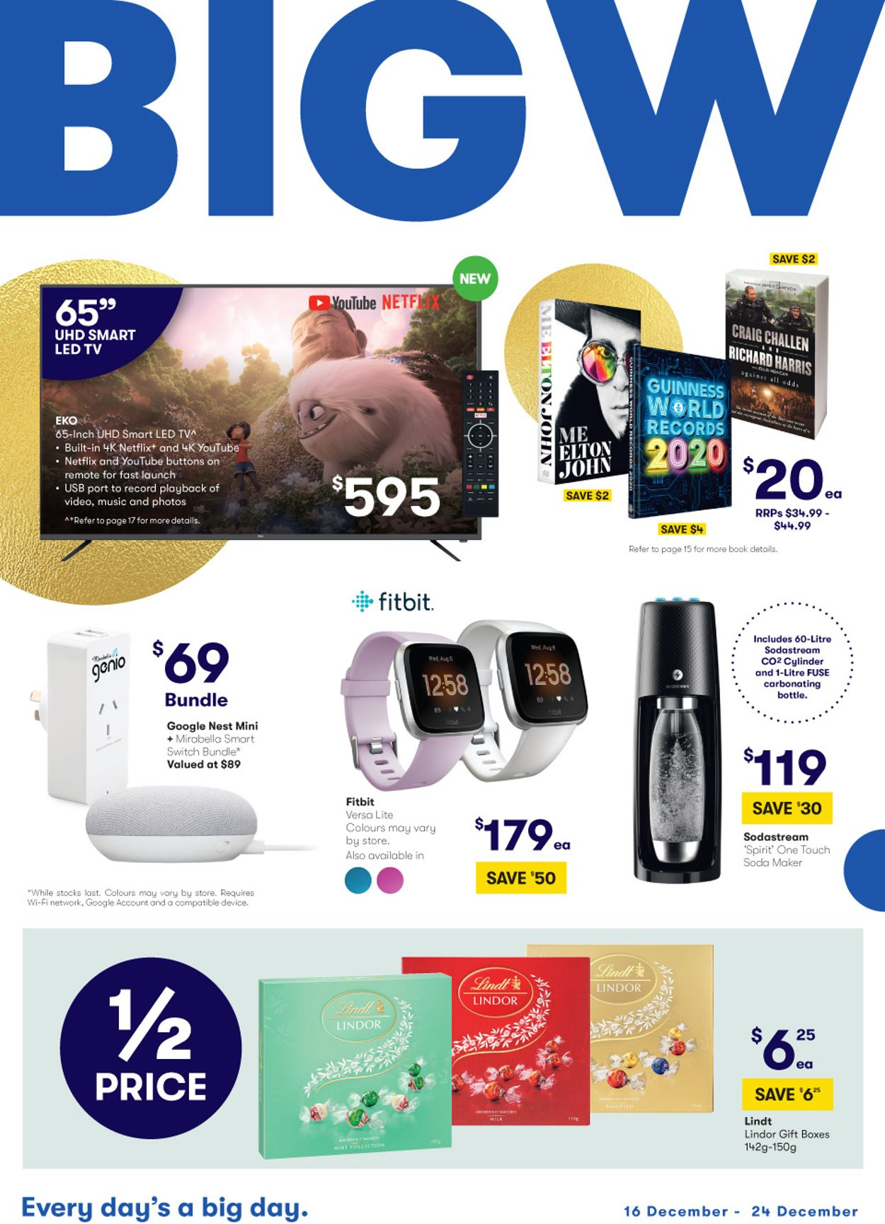 BIG W Christmas Catalogue 2019 Catalogue - 16/12-24/12/2019