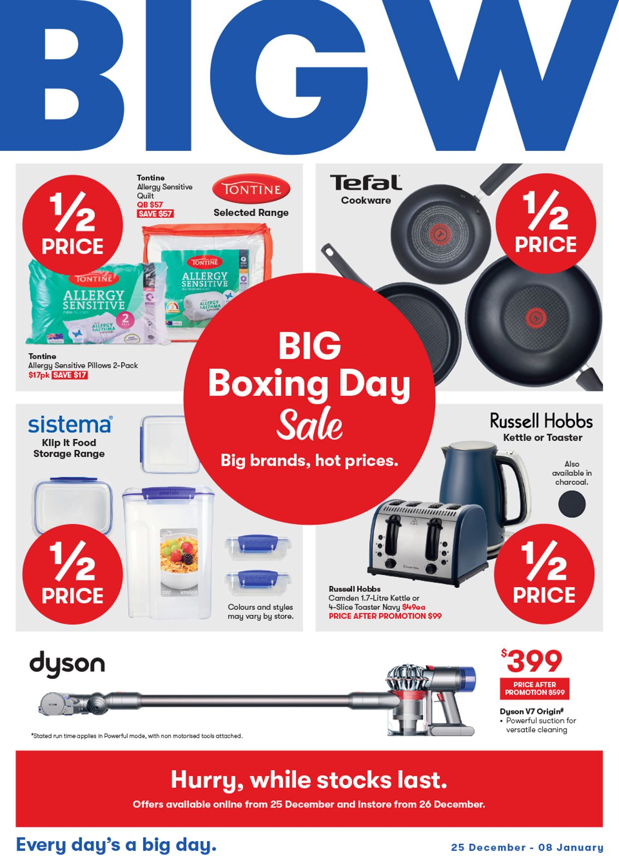 BIG W Boxing Day 2019 Catalogue - 25/12-08/01/2020