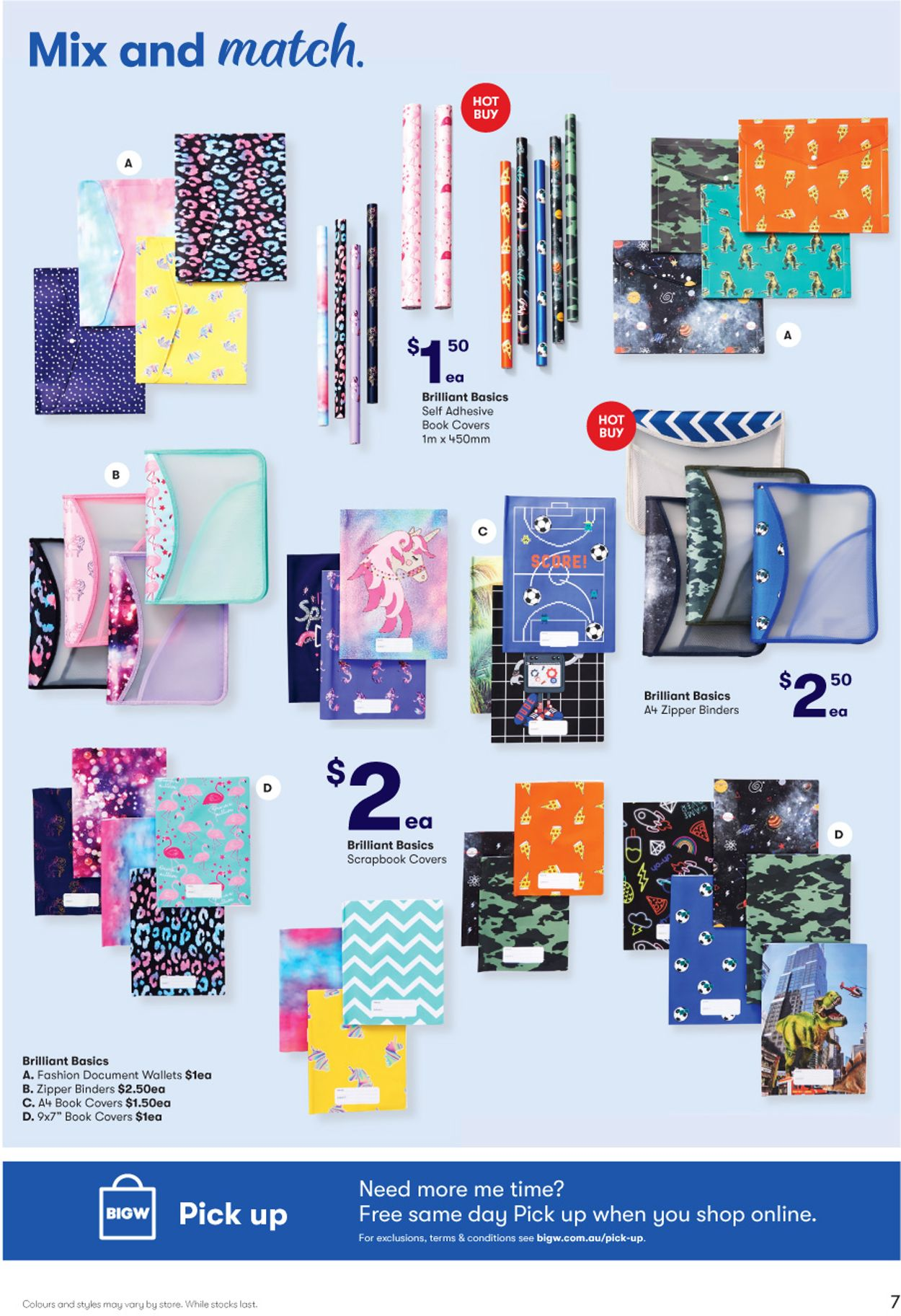 BIG W Back to School Catalogue - 02/01-15/01/2020 (Page 7)