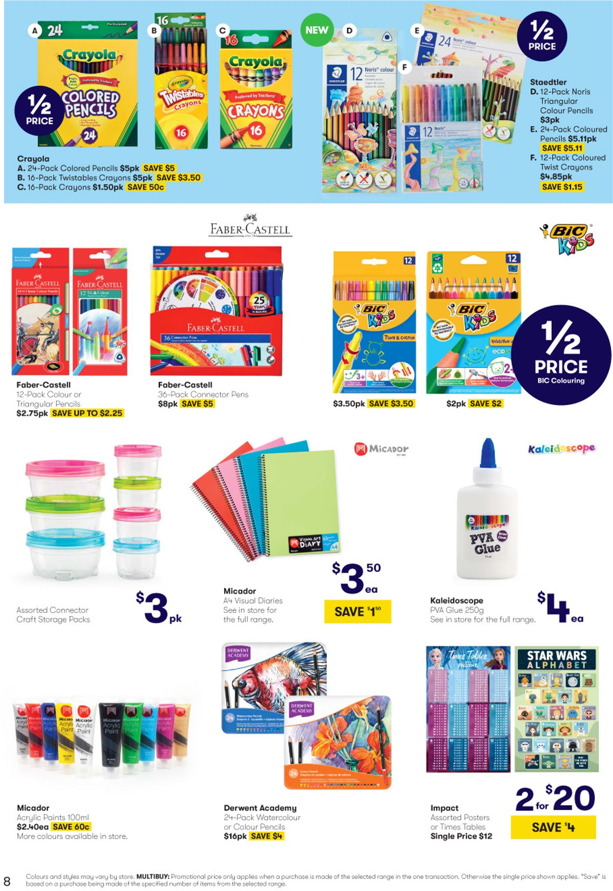 BIG W Back to School Catalogue - 02/01-15/01/2020 (Page 8)