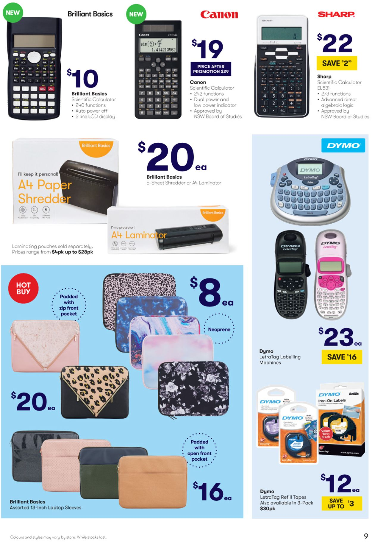BIG W Back to School Catalogue - 02/01-15/01/2020 (Page 9)