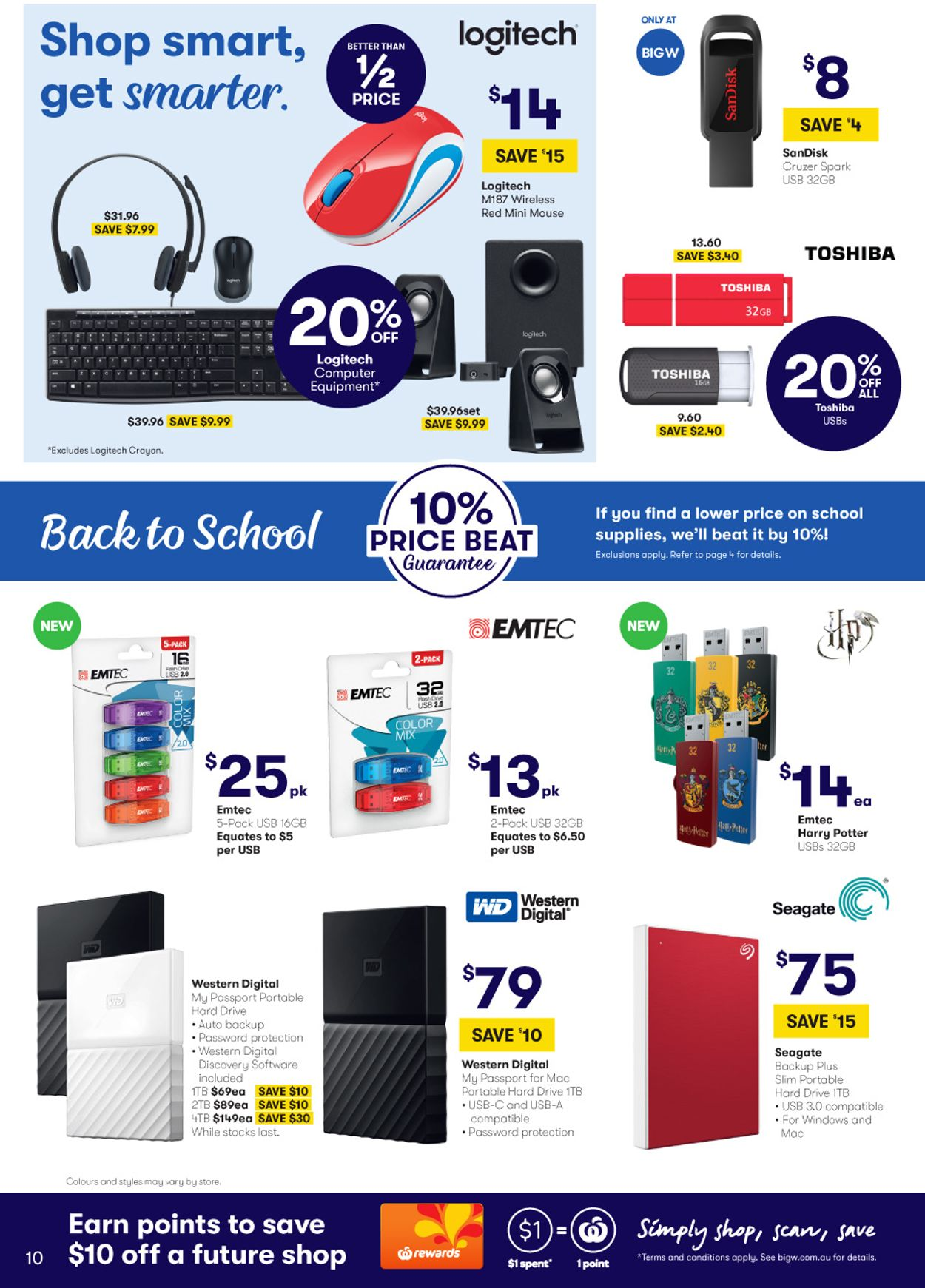 BIG W Back to School Catalogue - 02/01-15/01/2020 (Page 10)