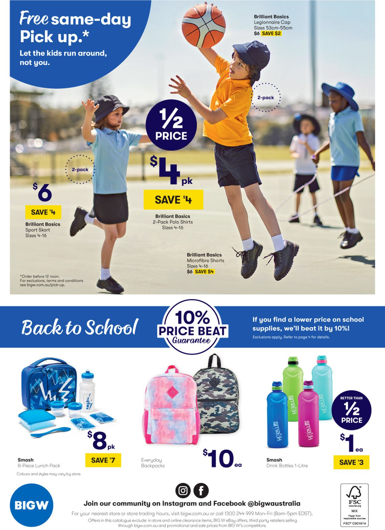 BIG W Back to School Catalogue - 02/01-15/01/2020 (Page 40)