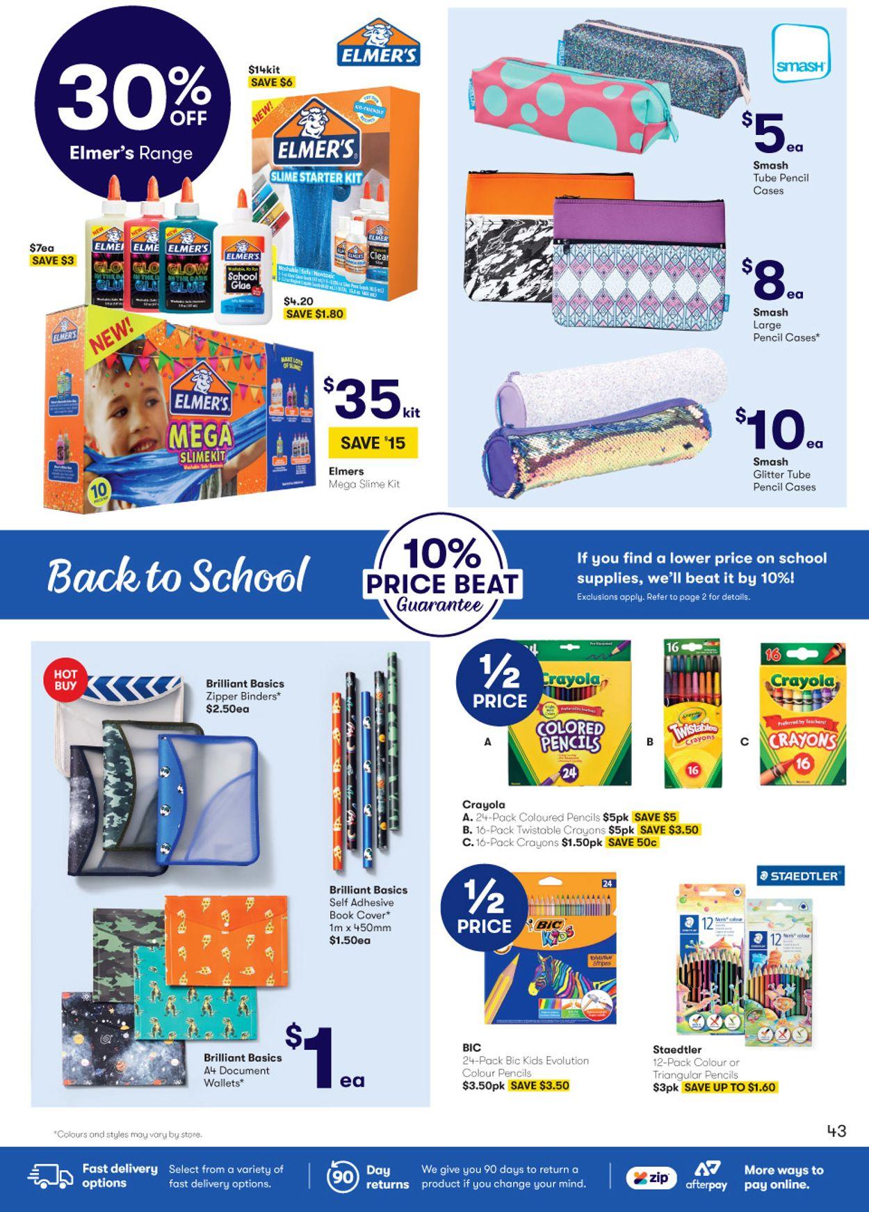 BIG W Catalogue - 16/01-29/01/2020 (Page 43)