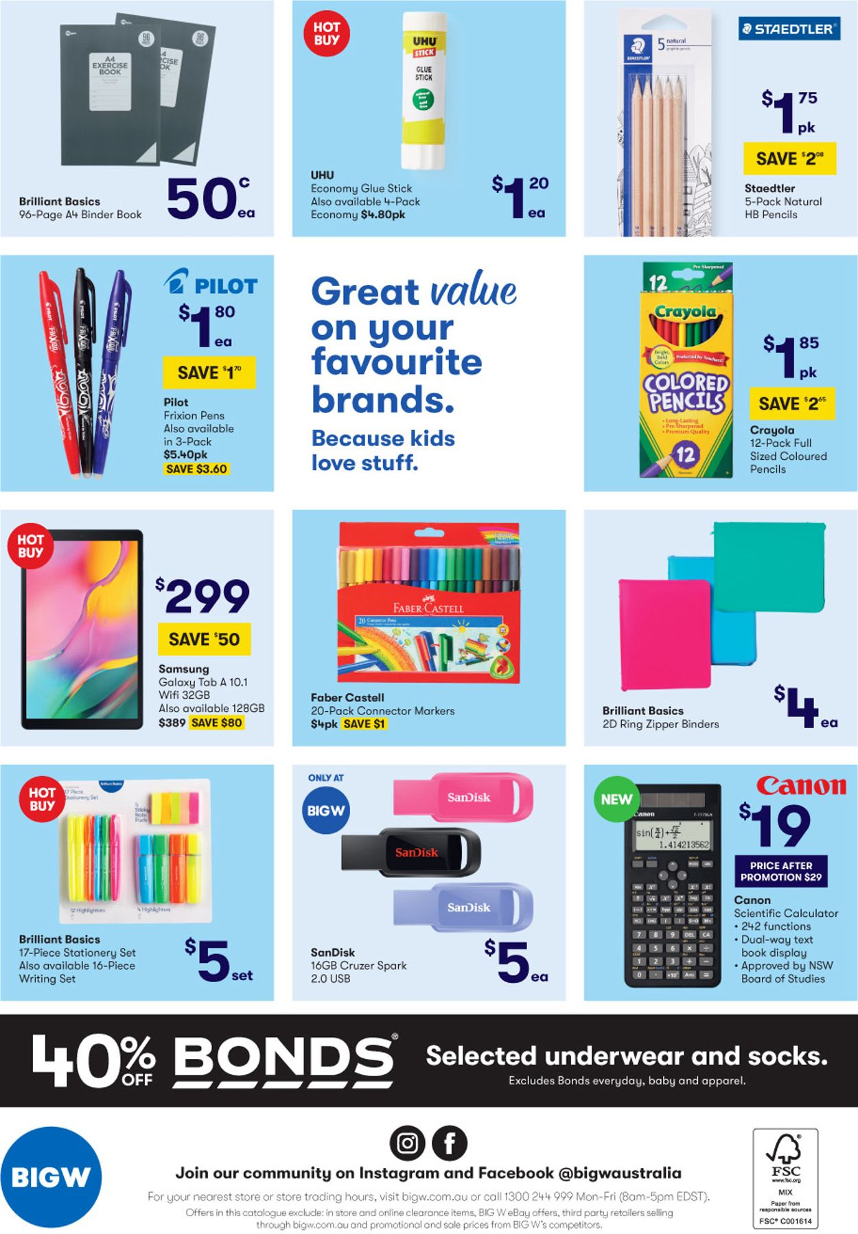 BIG W Catalogue - 16/01-29/01/2020 (Page 44)