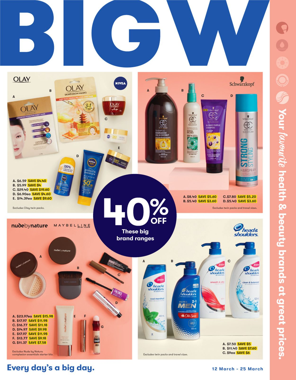BIG W Catalogue - 12/03-25/03/2020