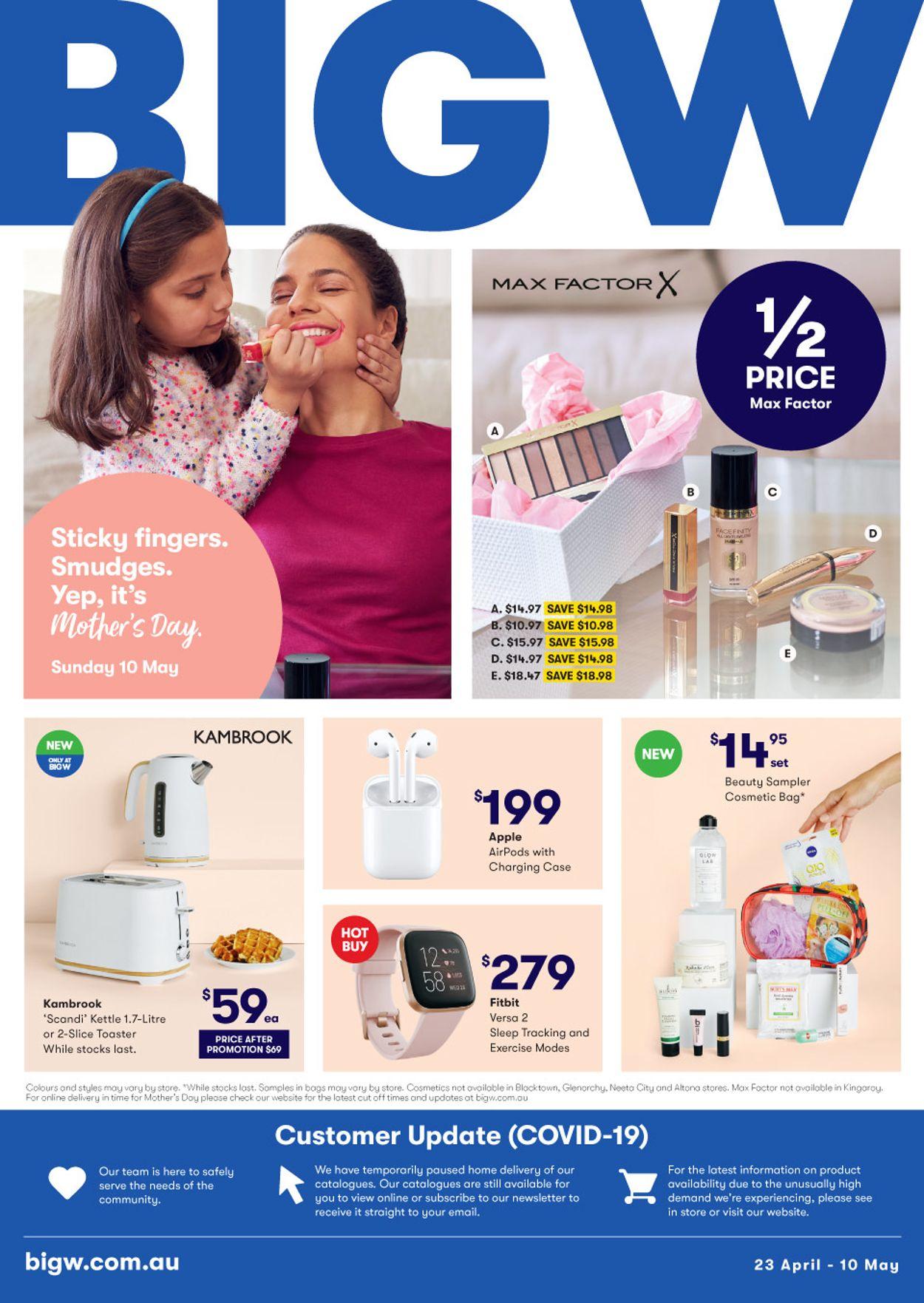 BIG W Catalogue - 23/04-10/05/2020