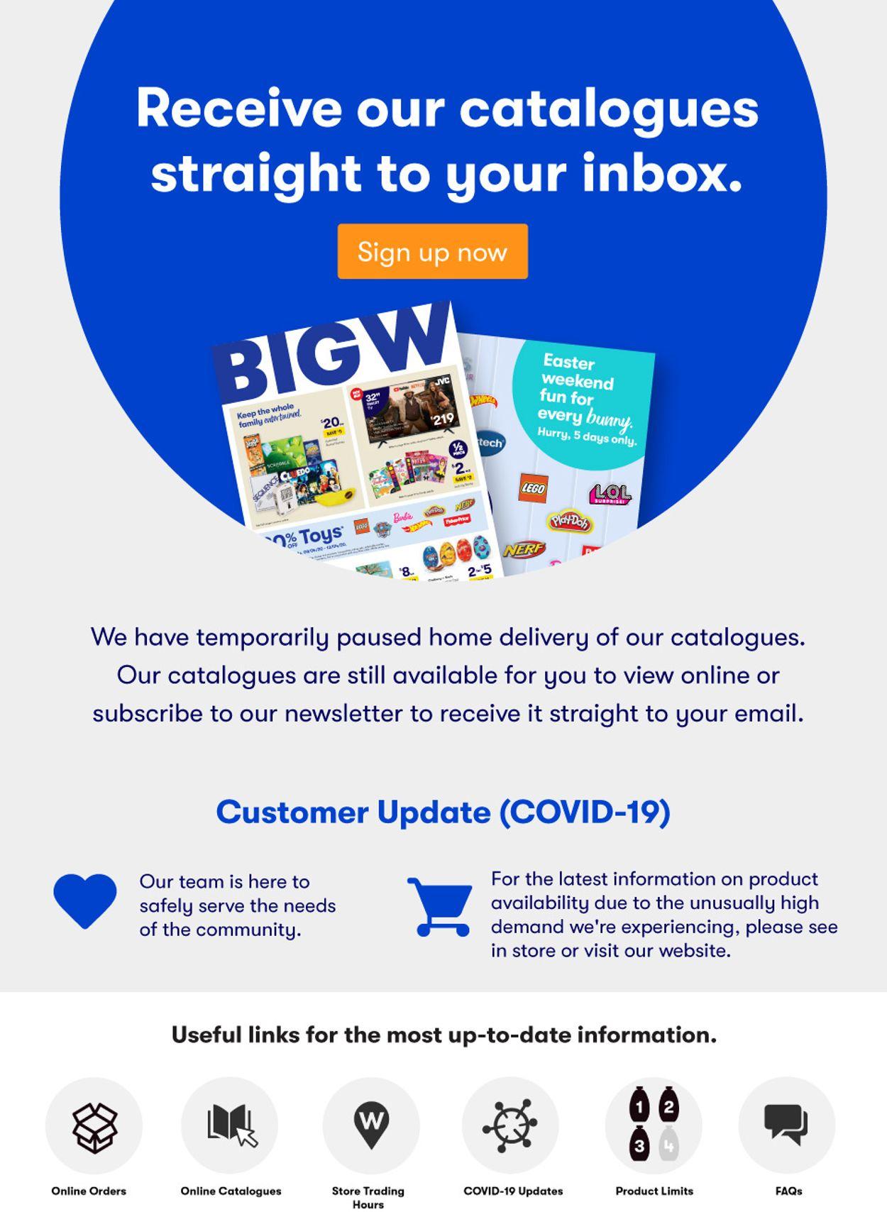 BIG W Catalogue - 04/05-11/05/2020