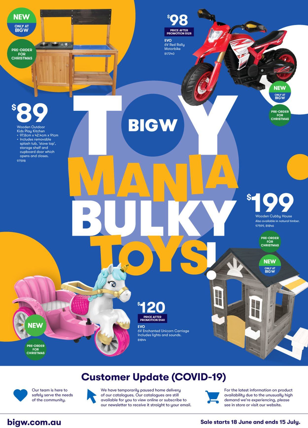 BIG W Catalogue - 18/06-15/07/2020