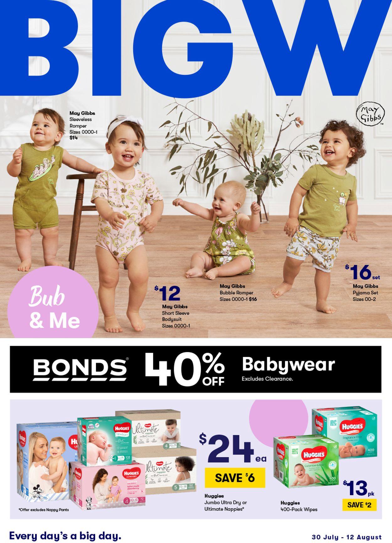 BIG W Catalogue - 30/07-12/08/2020