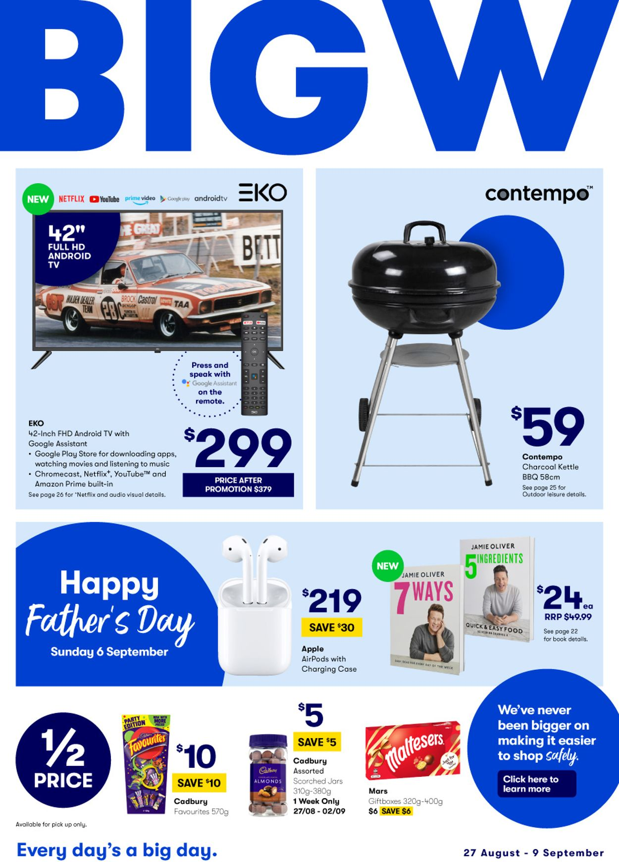 BIG W Catalogue - 27/08-09/09/2020