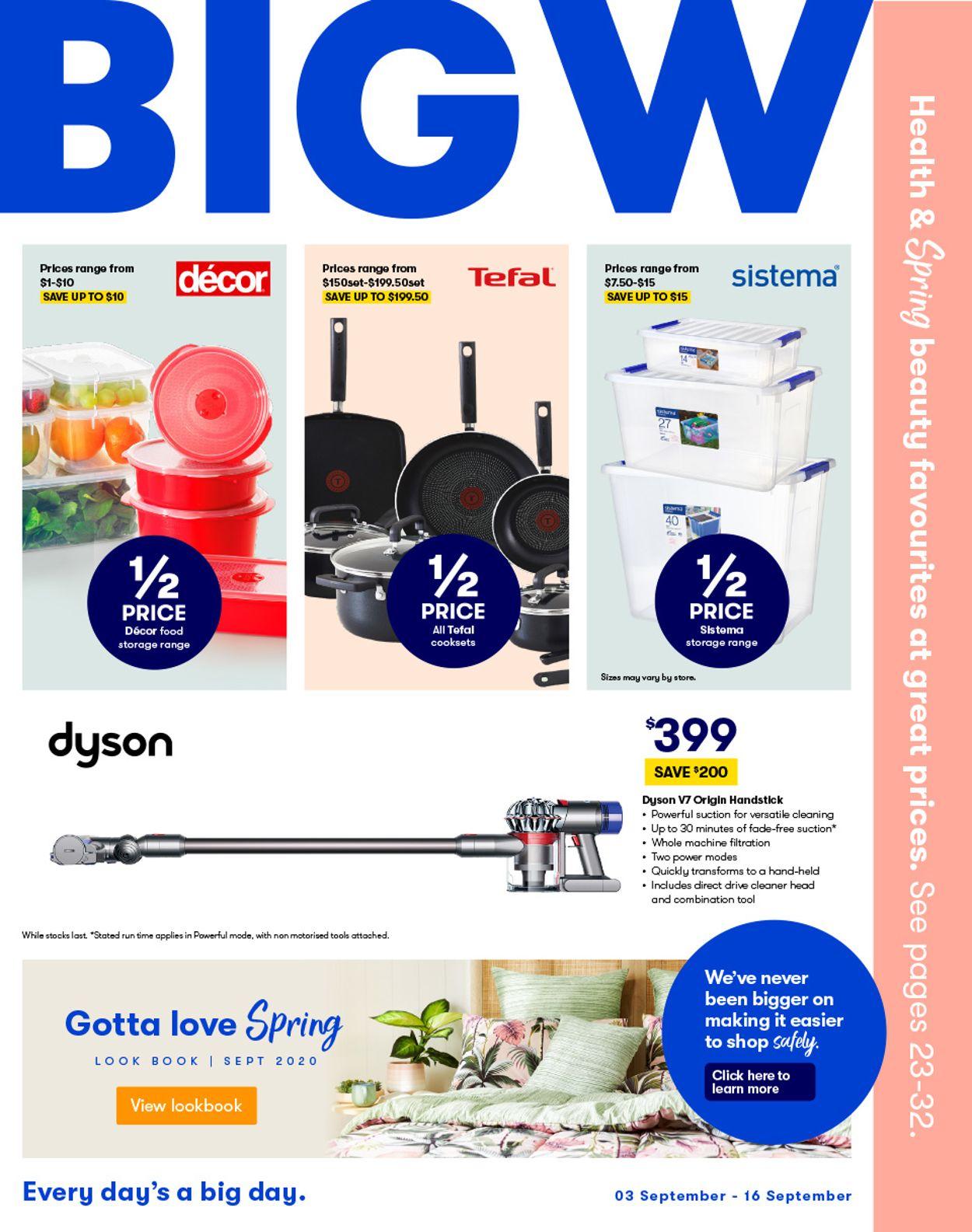 BIG W Catalogue - 03/09-16/09/2020