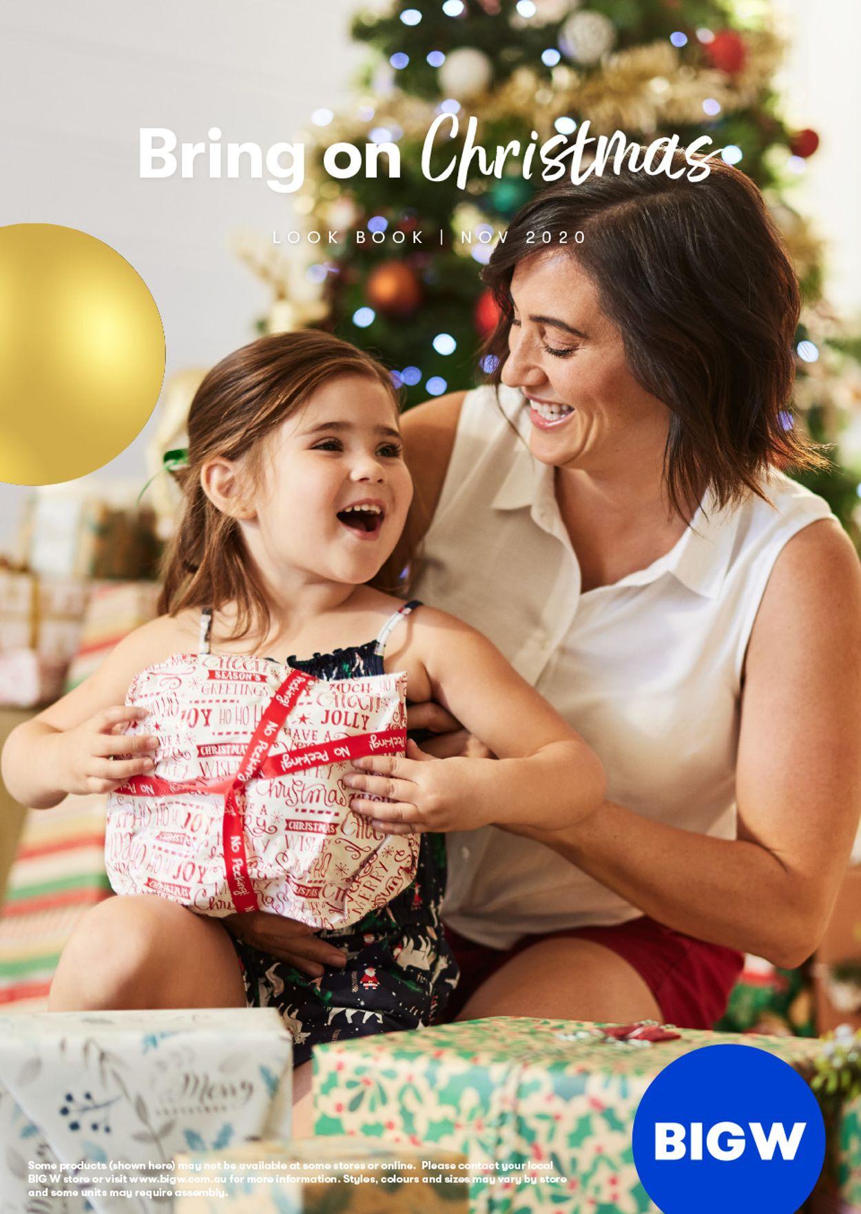 BIG W Christmas 2020 Catalogue - 01/11-06/01/2021