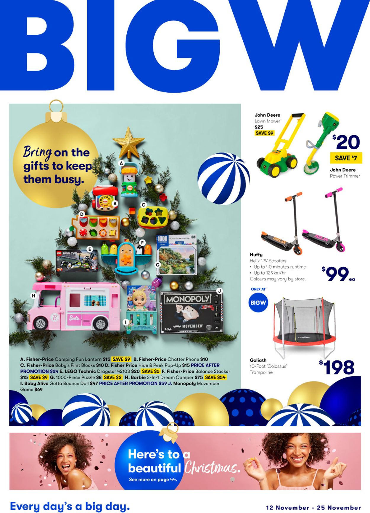 BIG W Catalogue - 12/11-25/11/2020