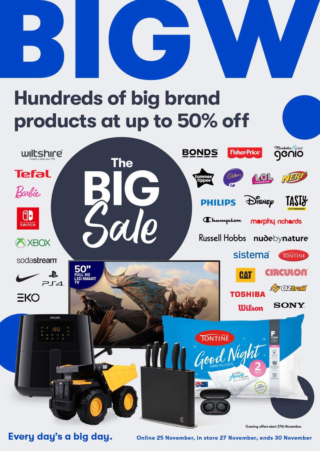 BIG W Black Friday 2020 Catalogue - 25/11-30/11/2020