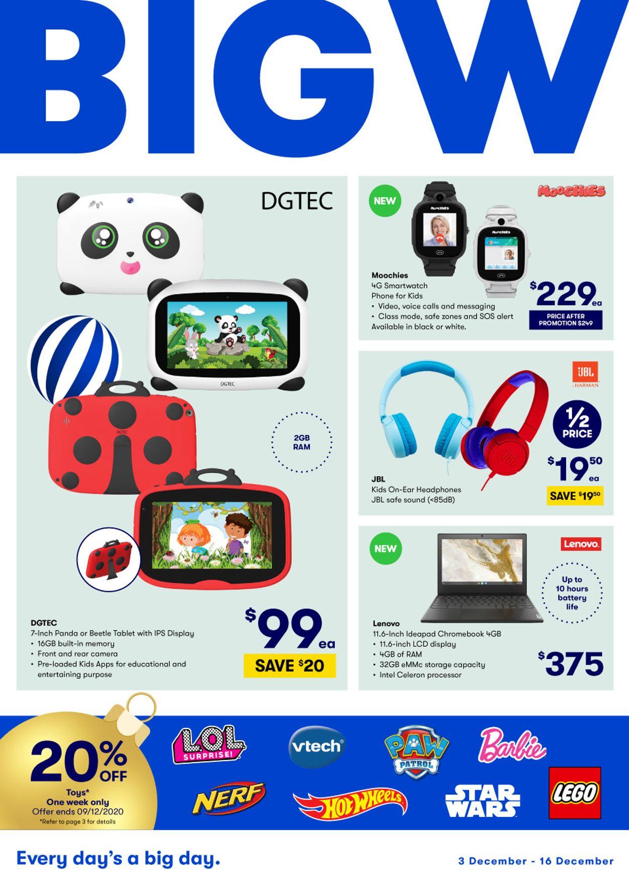 BIG W Christmas Catalogue - 03/12-16/12/2020