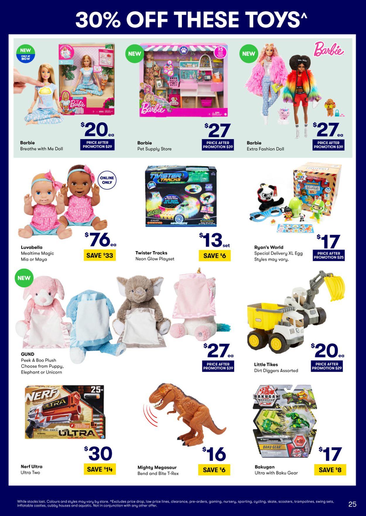 BIG W Christmas Catalogue - 03/12-16/12/2020 (Page 25)