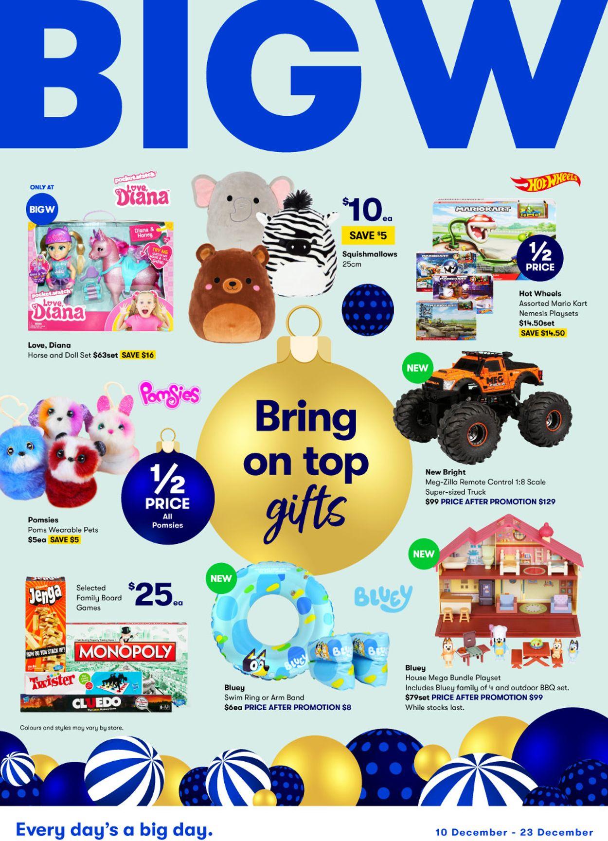 BIG W - Christmas 2020 Catalogue - 10/12-23/12/2020