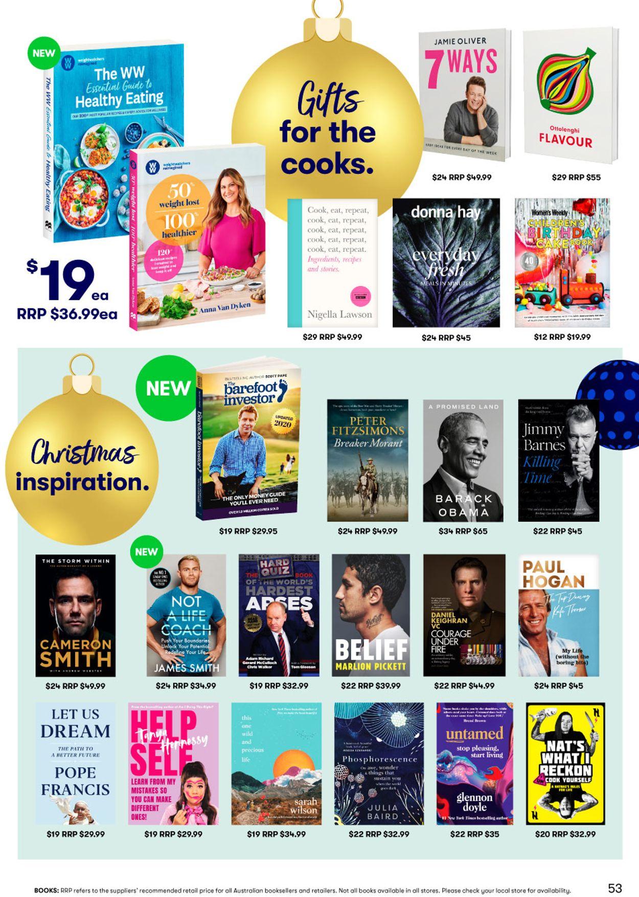 BIG W - Christmas 2020 Catalogue - 10/12-23/12/2020 (Page 53)