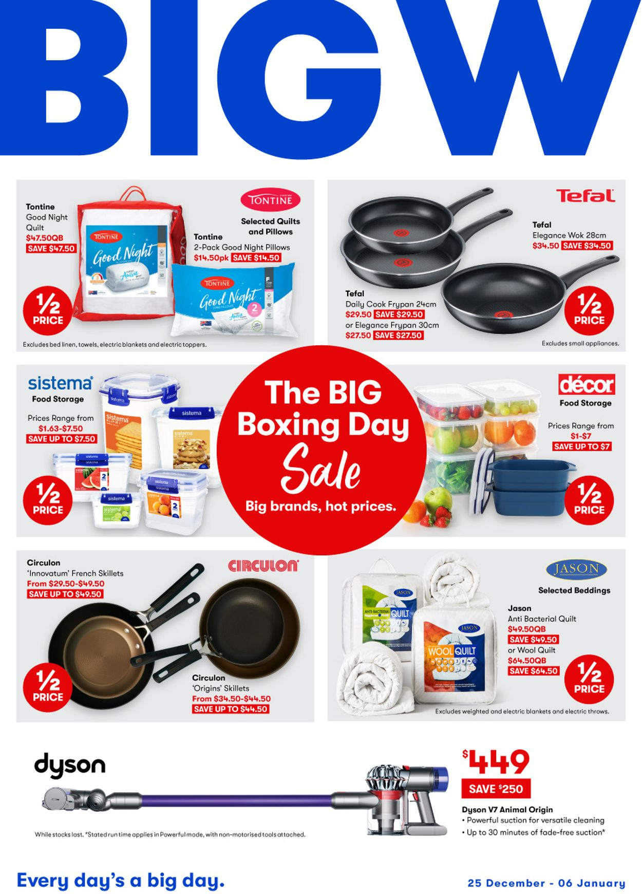 BIG W - Boxing Day 2020 Catalogue - 25/12-06/01/2021