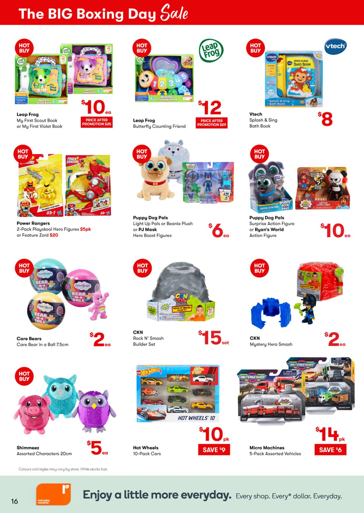 BIG W - Boxing Day 2020 Catalogue - 25/12-06/01/2021 (Page 16)