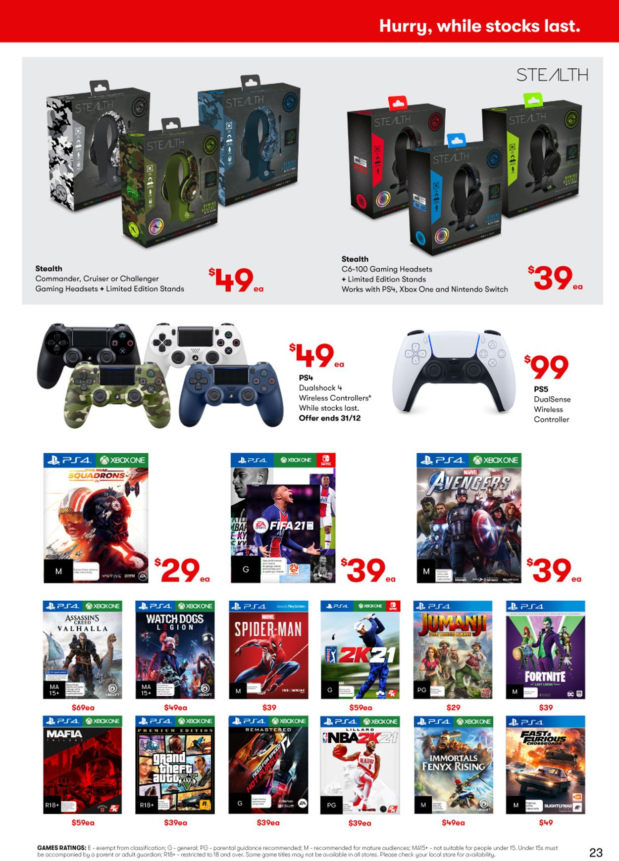 BIG W - Boxing Day 2020 Catalogue - 25/12-06/01/2021 (Page 23)