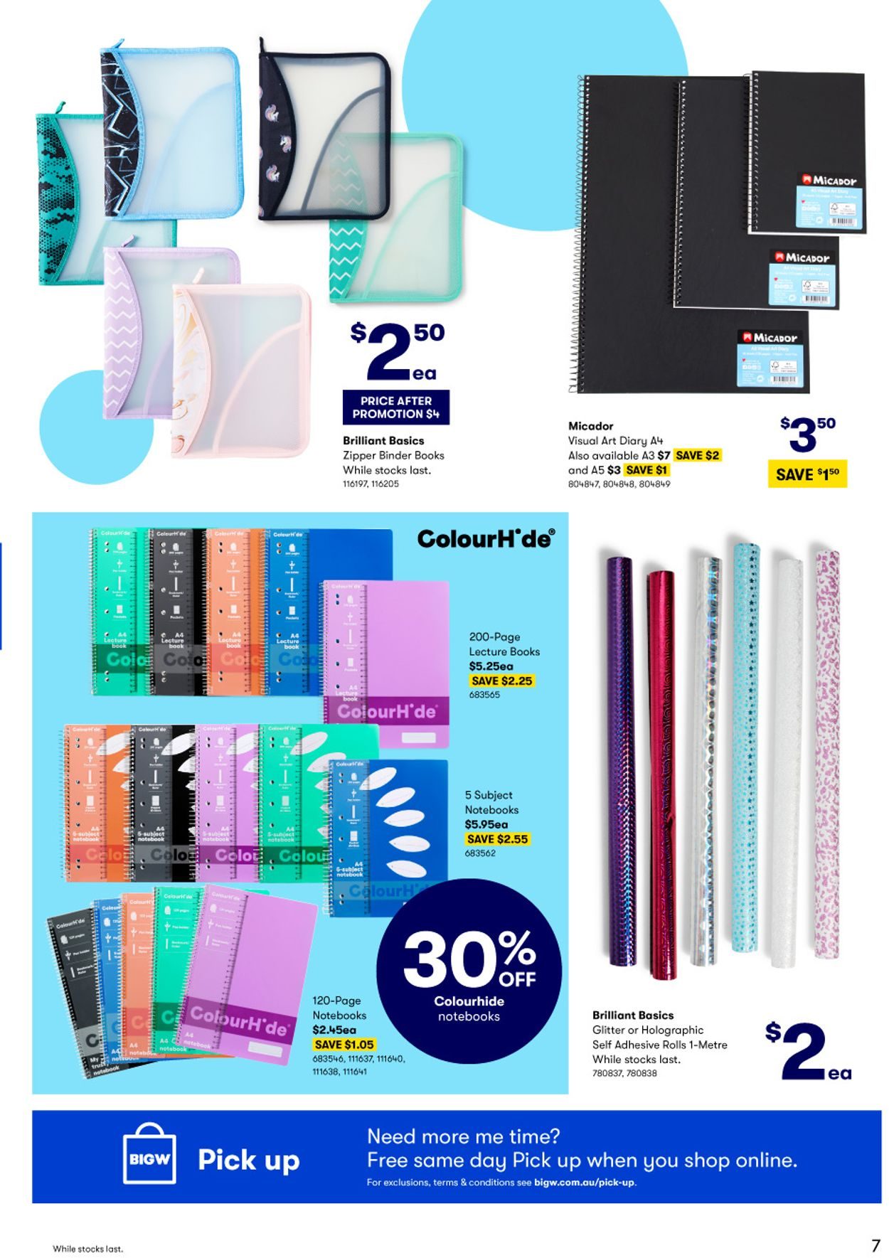 BIG W - Back to School Catalogue - 31/12-13/01/2021 (Page 7)