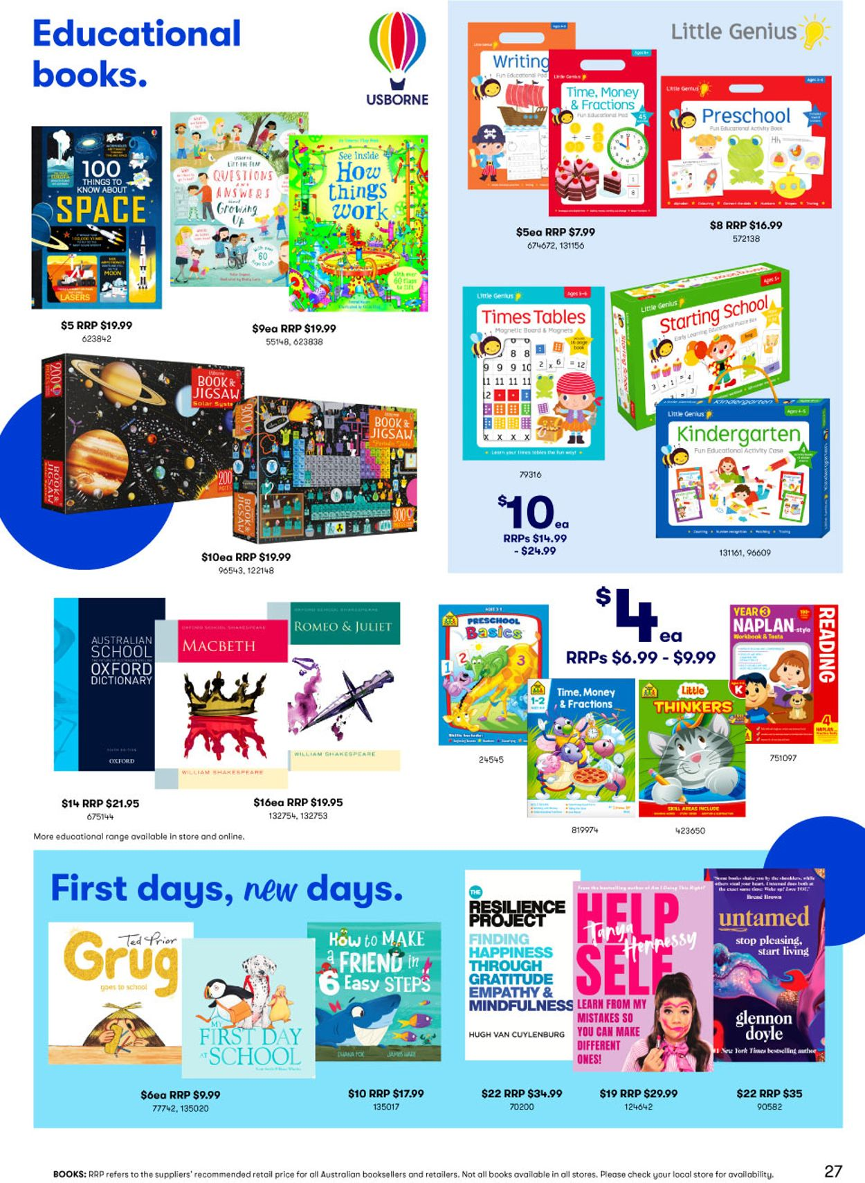 BIG W - Back to School Catalogue - 31/12-13/01/2021 (Page 27)