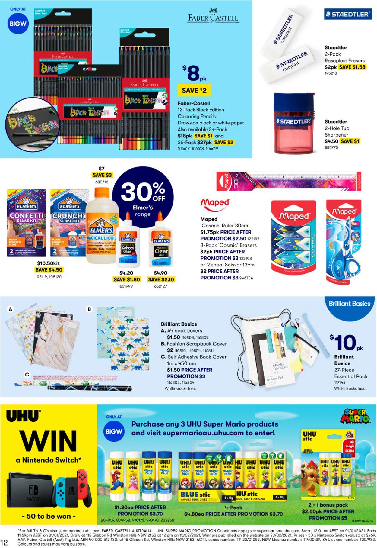BIG W Catalogue - 14/01-27/01/2021 (Page 12)