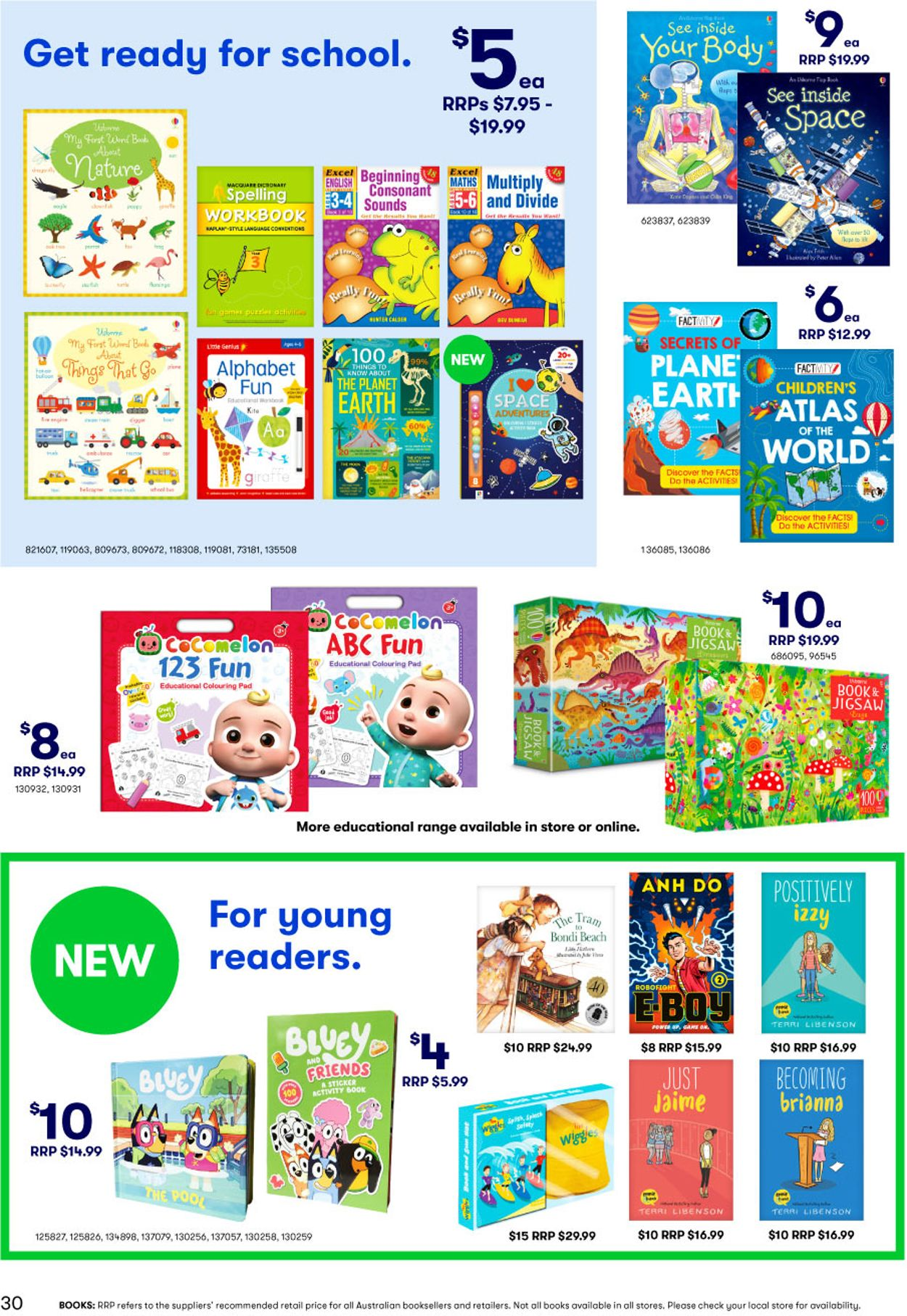 BIG W Catalogue - 14/01-27/01/2021 (Page 30)