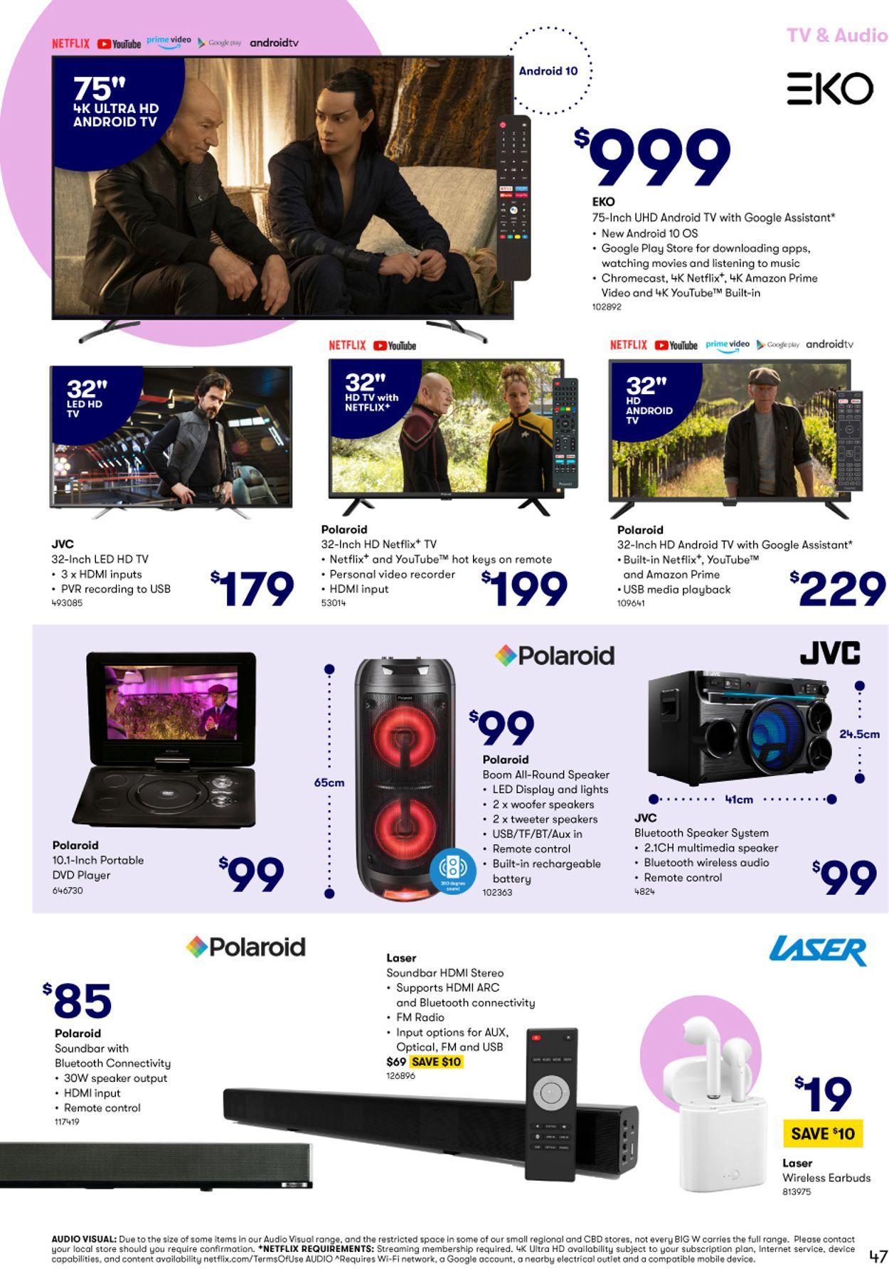 BIG W Catalogue - 28/01-10/02/2021 (Page 47)