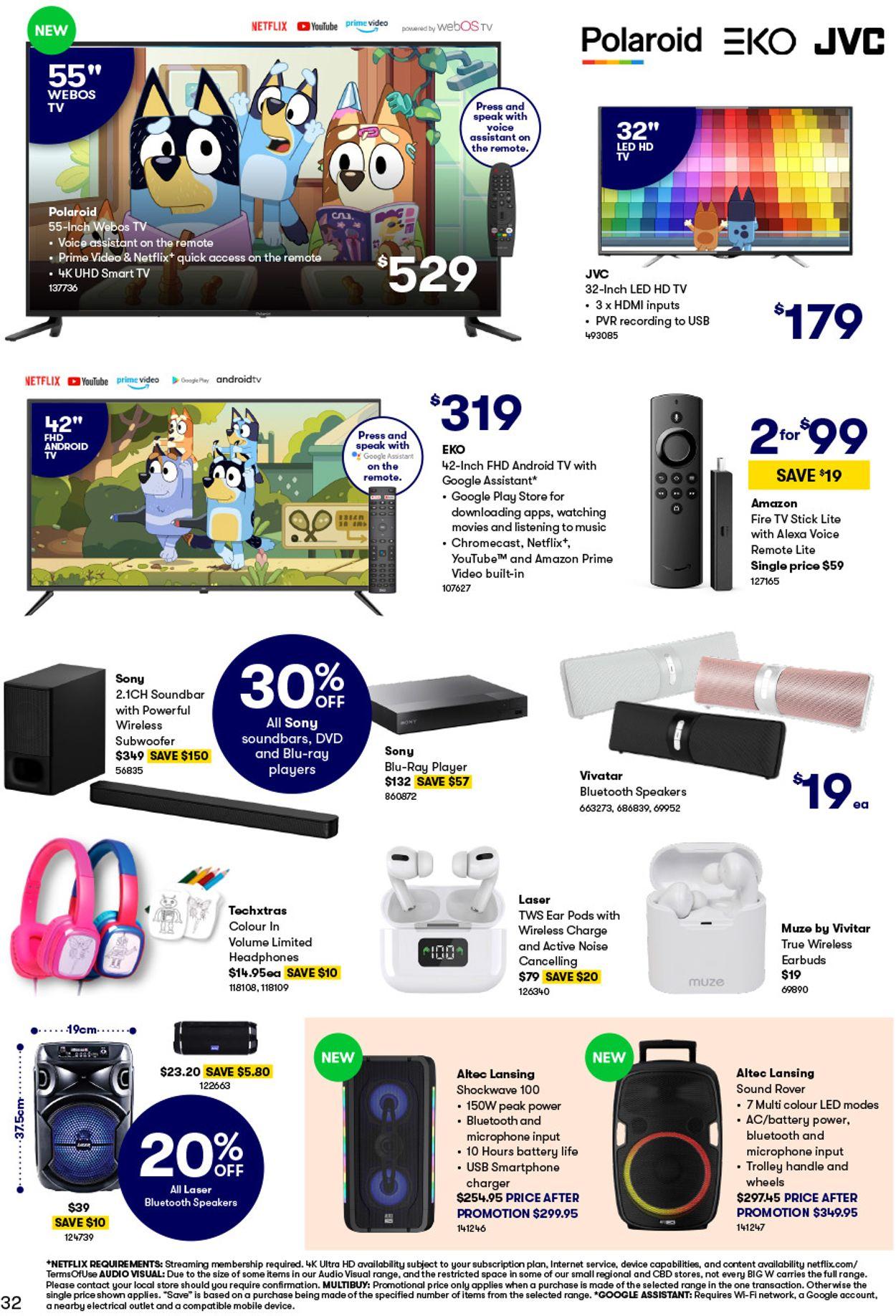 BIG W Catalogue - 25/02-10/03/2021 (Page 32)