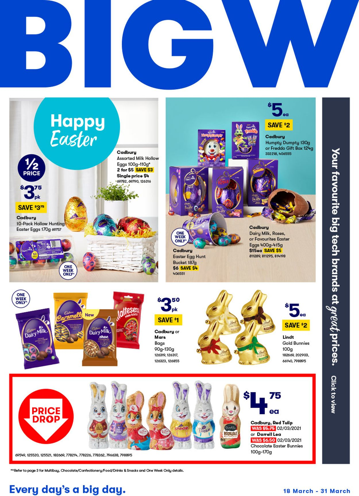 BIG W Catalogue - 18/03-31/03/2021