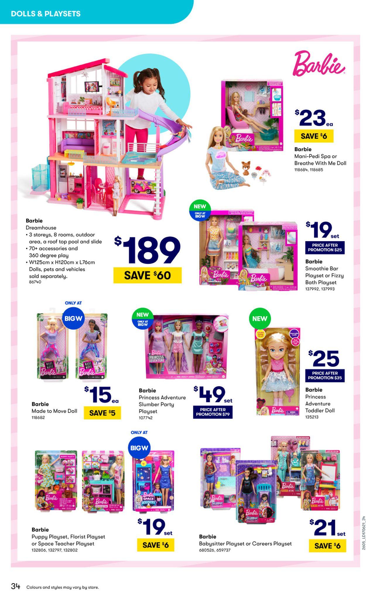 BIG W Catalogue - 15/06-14/07/2021 (Page 34)