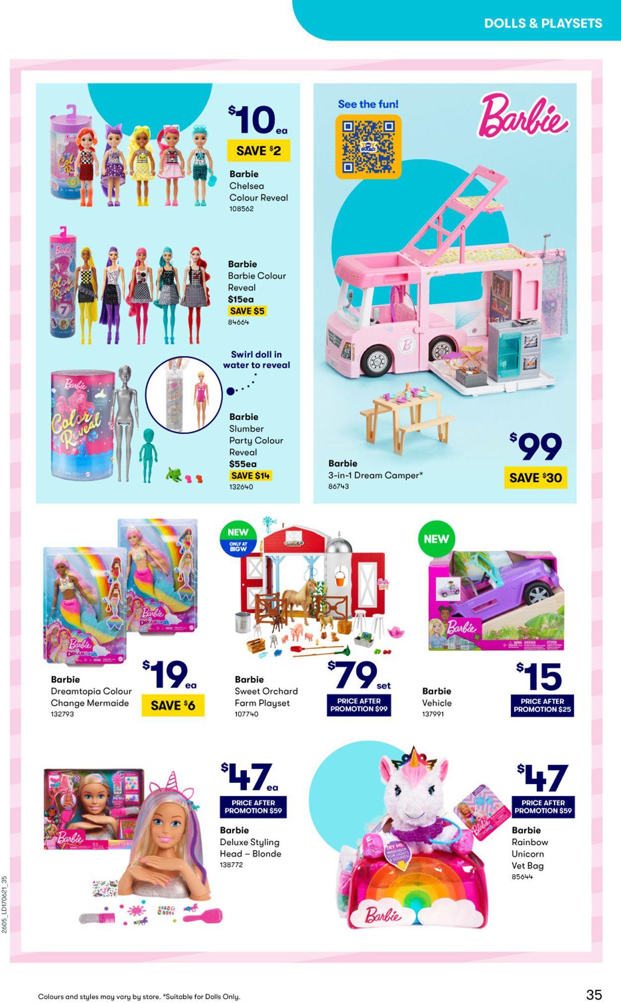 BIG W Catalogue - 15/06-14/07/2021 (Page 35)