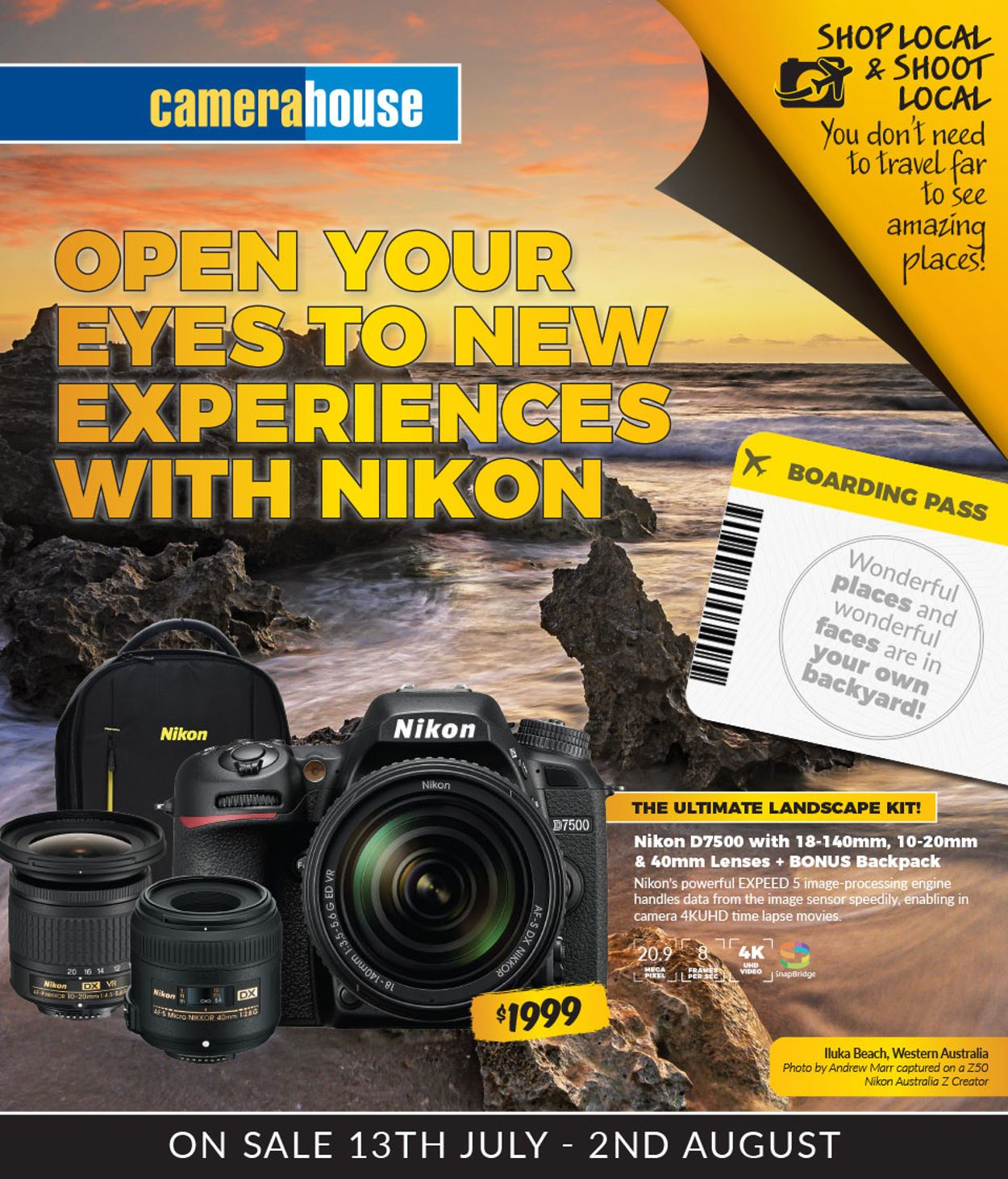 Camera House Catalogue - 13/07-02/08/2020