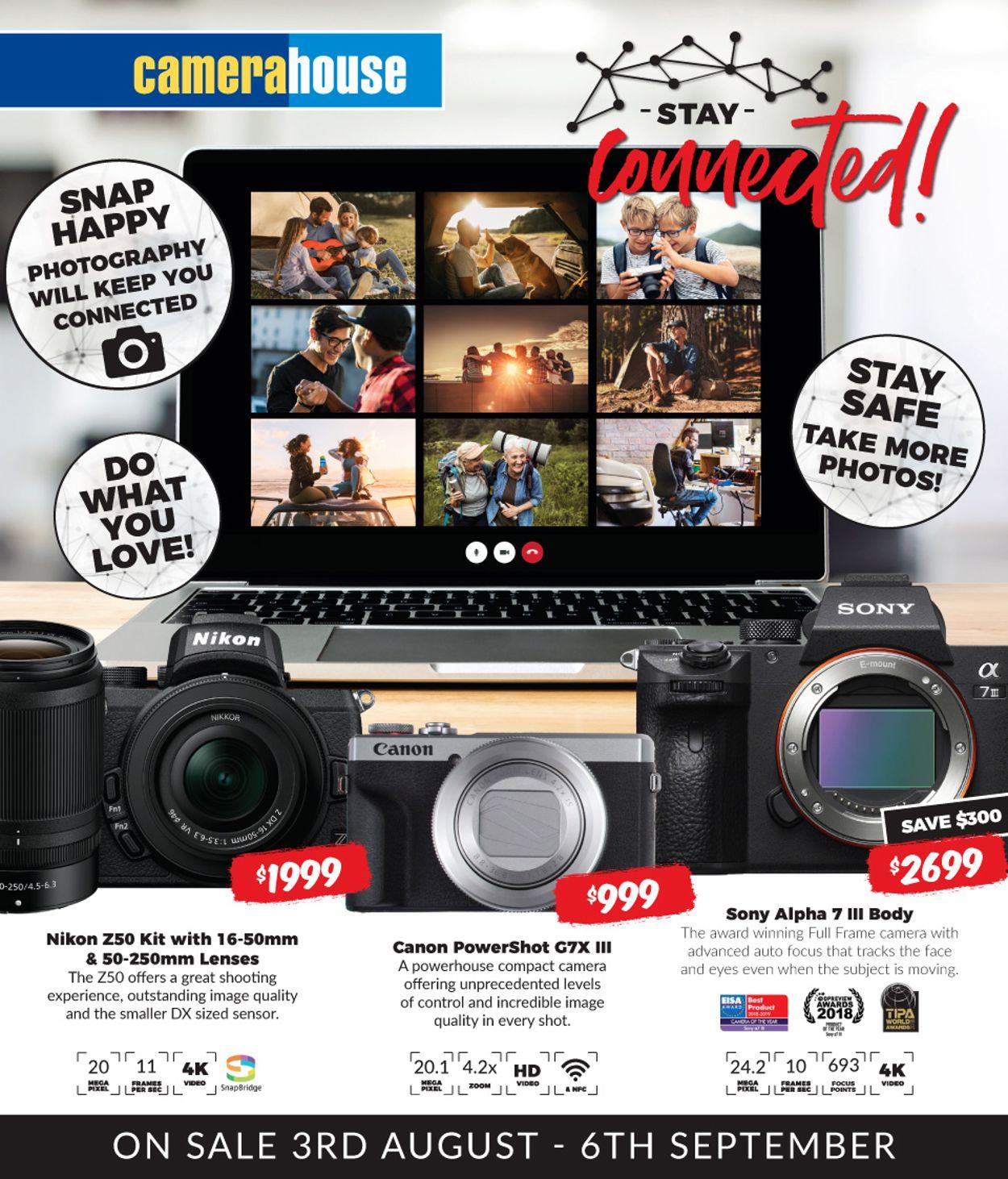 Camera House Catalogue - 03/08-06/09/2020