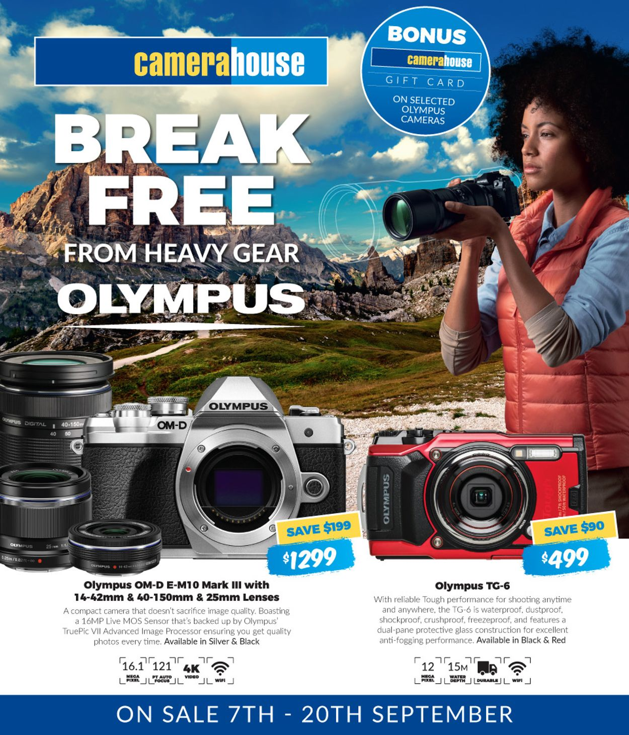 Camera House Catalogue - 07/09-20/09/2020