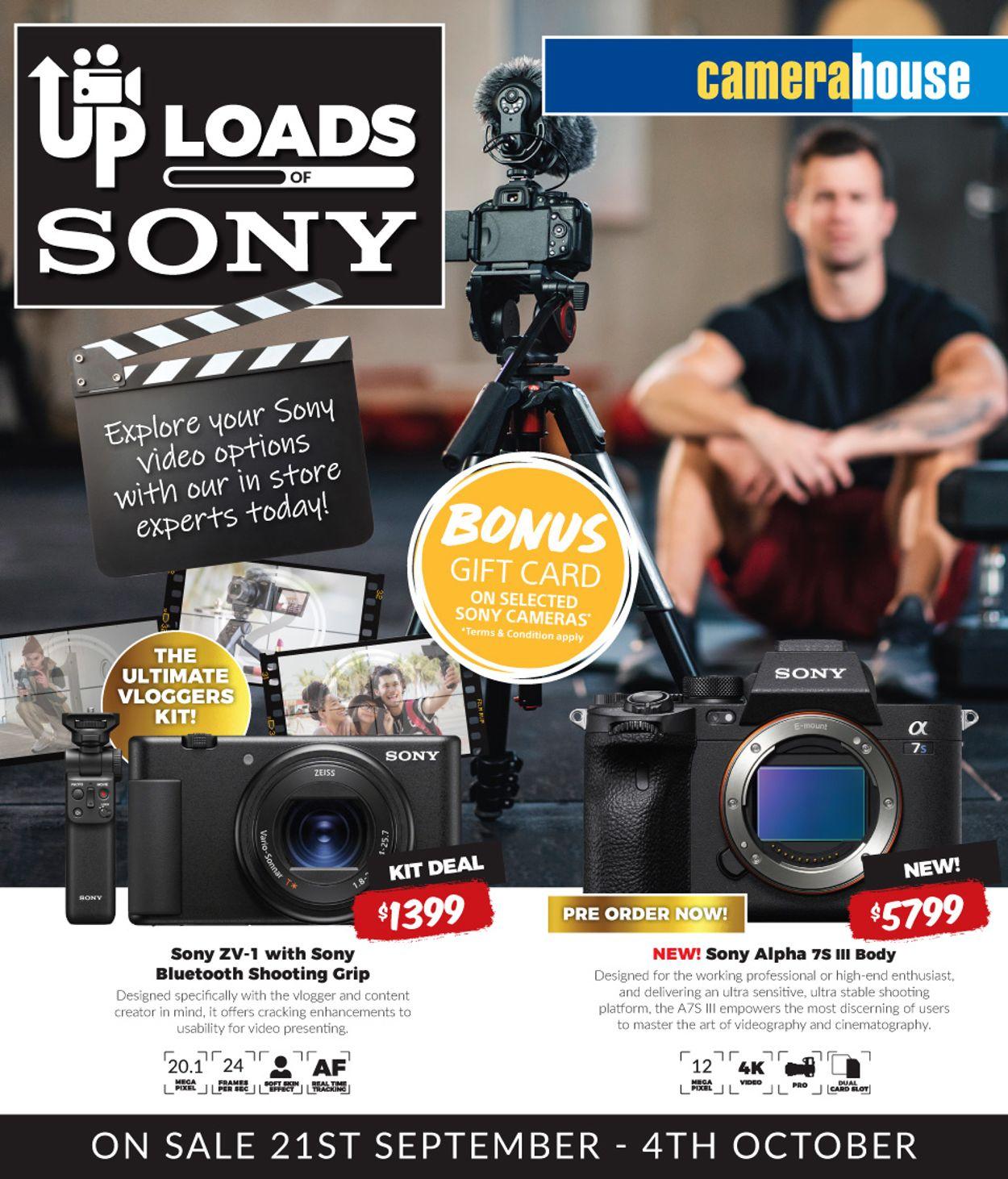Camera House Catalogue - 21/09-04/10/2020