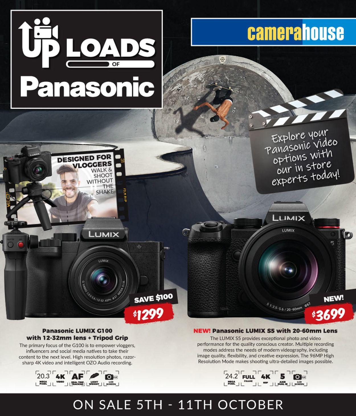 Camera House Catalogue - 05/10-11/10/2020