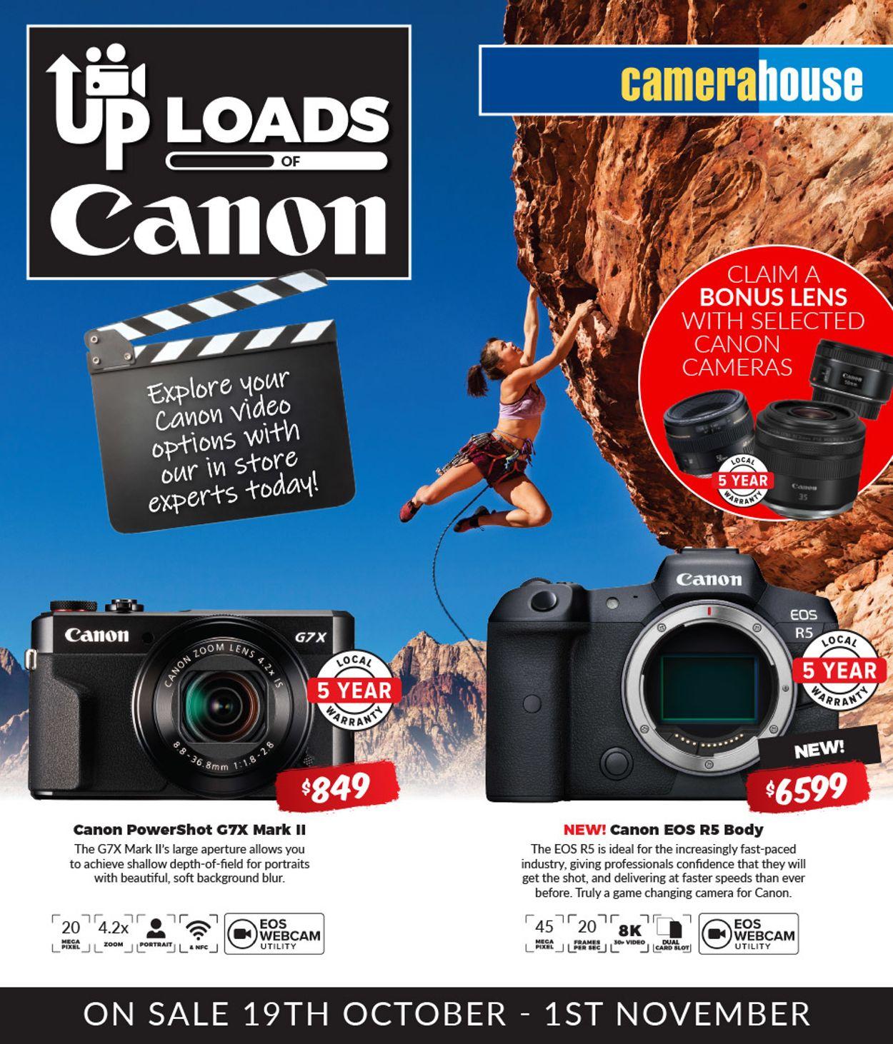 Camera House Catalogue - 19/10-01/11/2020