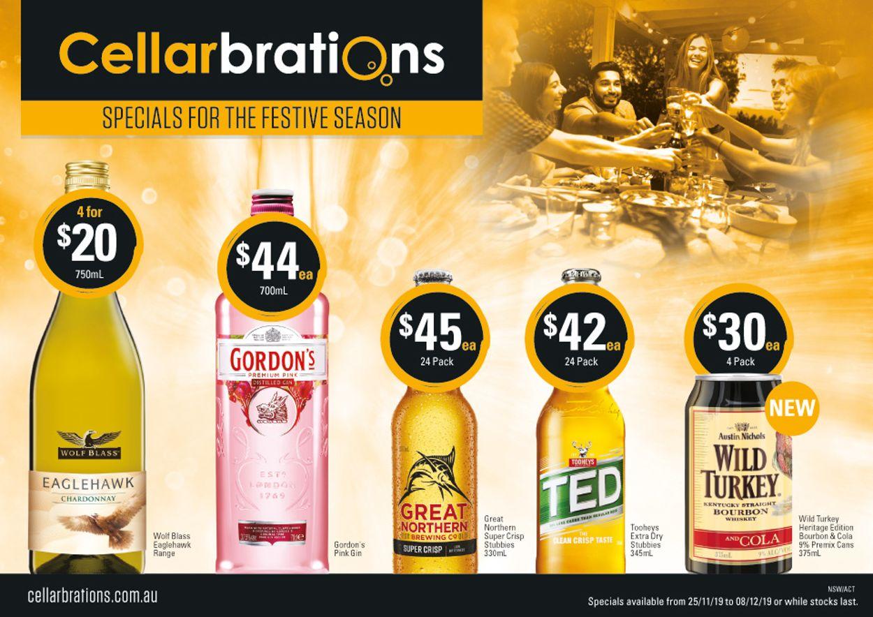 Cellarbrations Catalogue - 25/11-08/12/2019