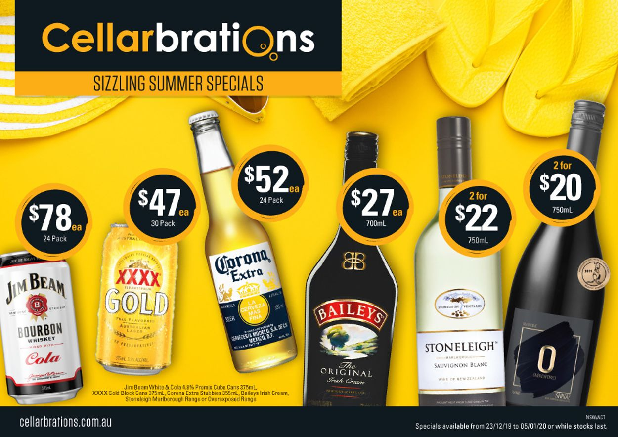 Cellarbrations Catalogue - 23/12-05/01/2020